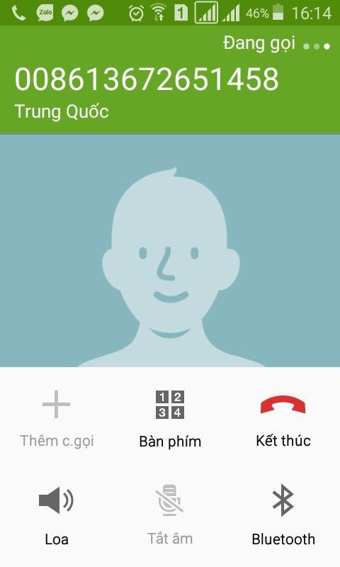 Khi PV thử gọi điện theo số thuê bao của em Mạnh gọi điện cho bố, trên màn hình điện thoại hiện địa điểm. Ảnh: NT