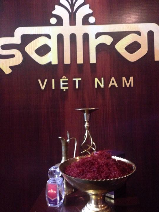 """""""Vàng đỏ"""" Saffron đã chính thức """"trình làng"""" tại Việt Nam"""