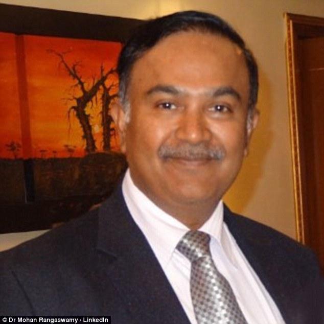 Bác sĩ Mohan Rangaswamy, người tiến hành phẫu thuật cho Stanley Wood