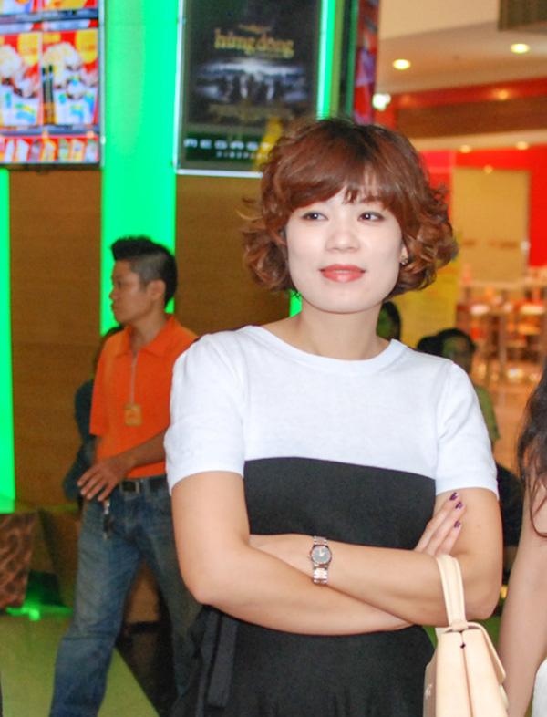 Chị Nguyễn Hồng Nhung hiện đang là giảng viên khoa sân khấu