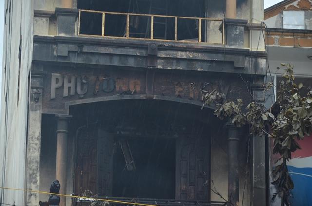 Tầng 3 nơi có 5 người được giải cứu.