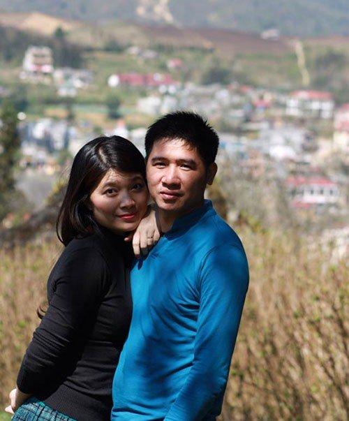 BTV Diệp Anh hạnh phúc bên chồng