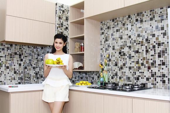 Phòng bếp trang trí đơn giản mà đẹp