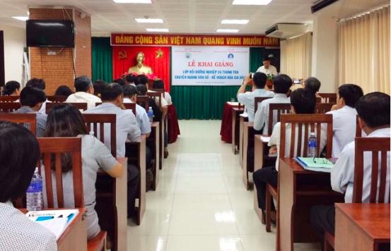 Lớp bồi dưỡng thanh tra chuyên ngành dân số - KHHGĐ được tổ chức tại Đắk Nông tháng 8/2017.