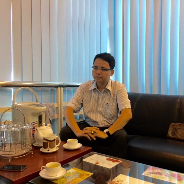 Ông Nguyễn Vũ Hải - Phó Cục trưởng Vr trong buổi làm việc với phóng viên. (ảnh: HC)