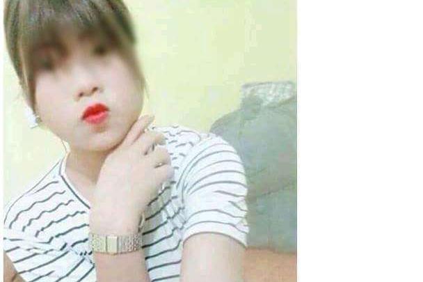 Nữ sinh Vi Thị H. đã trở về nhà sau 5 ngày mất tích. Ảnh: Gia đình cung cấp