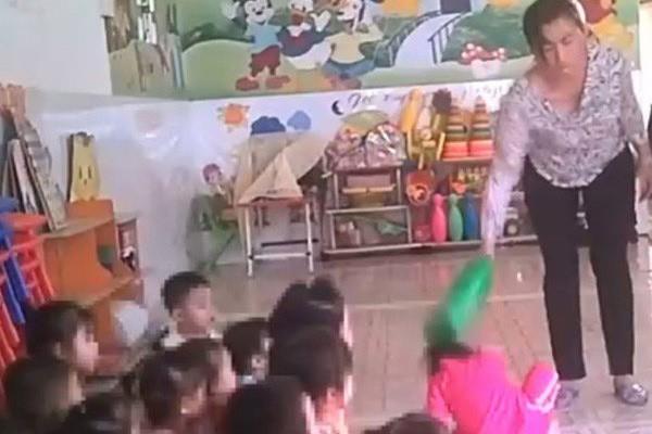 Bảo mẫu bạo hành trẻ em ở cơ sở mầm non tư thục Mầm Xanh