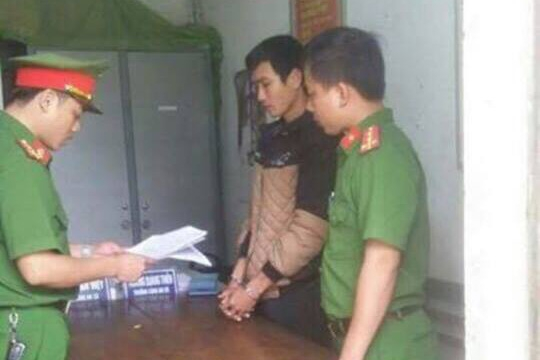 Đối tượng Hoàng Xuân Hải đã bị Cơ quan cảnh sát điều tra huyện Hương Khê ra quyết định khởi bị can.