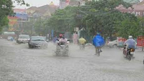 Bắc Bộ mưa to diện rộng nhiều ngày tới