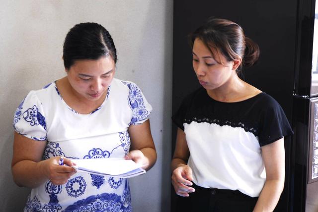 Chị Hương Socola (phải) sẵn sàng chia sẻ toàn bộ kinh nghiệm, bí quyết mà mình có được cho học viên