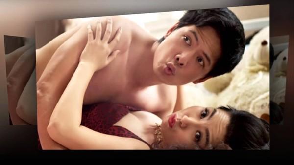 Khi đóng phim Cô dâu đại chiến, Bình Minh có những phân cảnh nóng với diễn viên Lê Khánh.