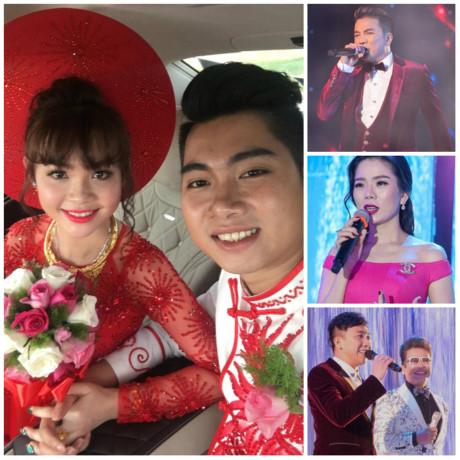 Đám cưới cặp đôi Nguyễn Hải Đăng - Lê Thị Bích Trâm nổi trội với sự xuất hiện của dàn sao khủng.
