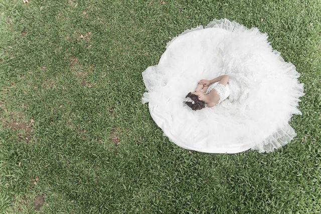 Chen chụp ảnh cưới ở Đài Bắc với nhiều khung hình tuyệt đẹp khác nhau.