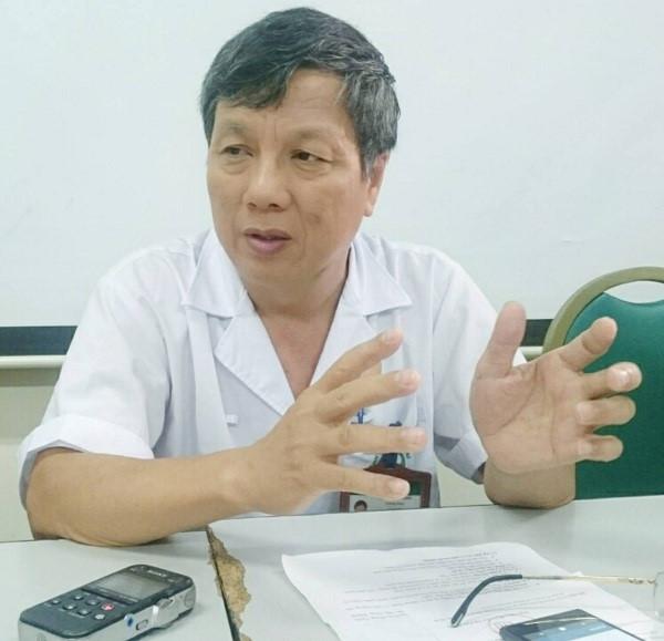 GS Nguyễn Gia Bình, Chủ tịch Hội Hồi sức Cấp cứu Chống độc Việt Nam. ảnh: TL