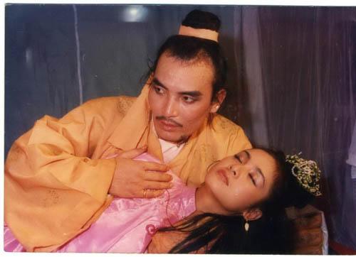 """Nghệ sĩ Hoàng Thắng trong phim """"Đêm hội Long Trì"""". Ảnh: TL"""