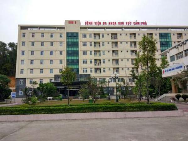 Bệnh viện Đa khoa khu vực Cẩm Phả, nơi xảy ra sự việc. Ảnh: TL