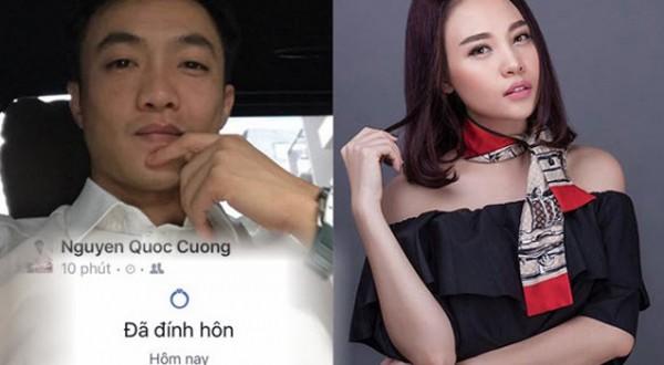 Cường Đô la cũng công khai tình mới là Đàm Thu Trang.