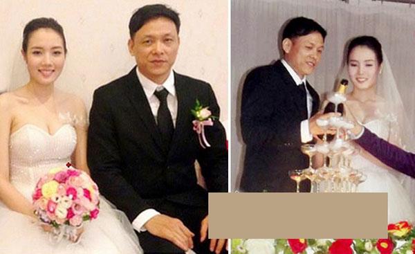 Đám cưới của đạo diễn Ngô Quang Hải với hotgirl kém 25 tuổi Diệp Hồng Đào.