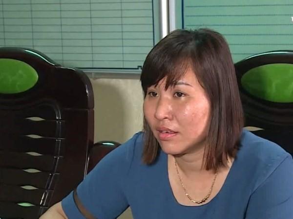 Bà Thủy - Hiệu trưởng trường tiểu học Đặng Cương bị cách chức. Ảnh: HT