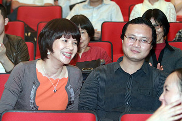 Chồng nhà báo Diễm Quỳnh là một kiến trúc sư và rất tâm lý với vợ.