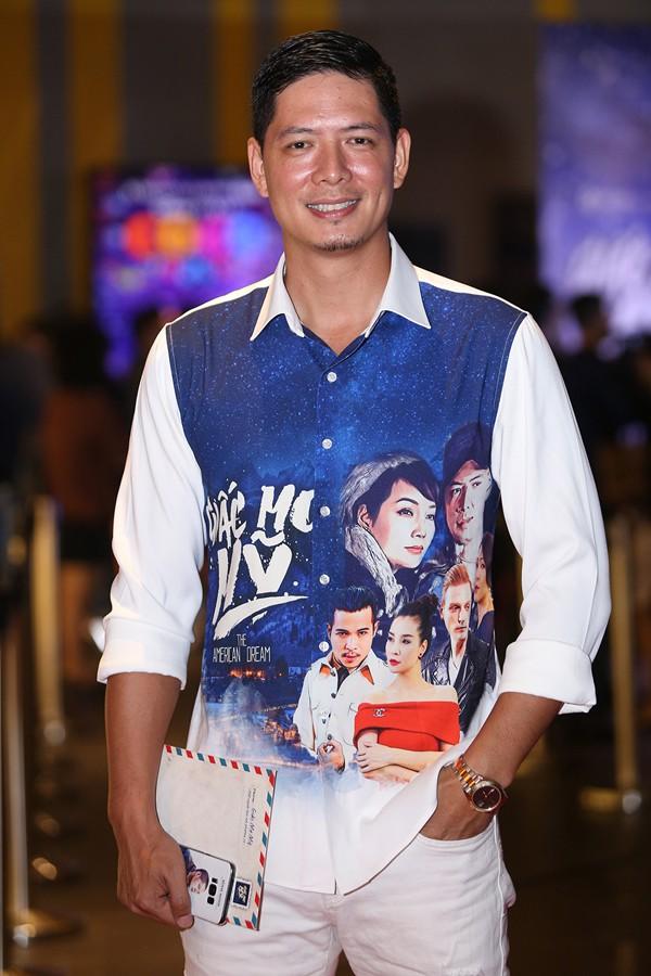 Bình Minh tại lễ ra mắt phim ở Hà Nội.
