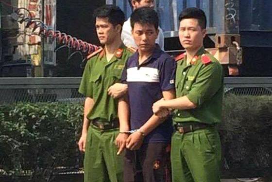 Đối tượng Chung bị cơ quan điều tra bắt giữ. Ảnh: (Cơ quan Công an cung cấp)