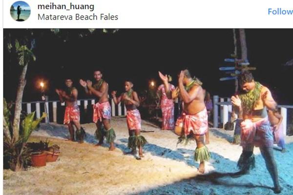 Đảo Soama phía Nam Thái Bình Dương thuộc Mỹ có màn đón năm mới bằng điệu nhảy độc đáo.