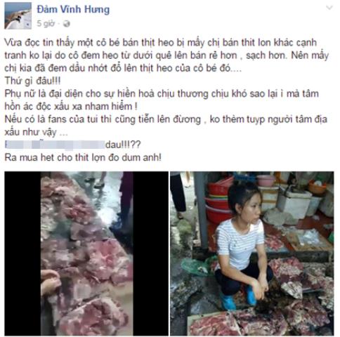 Nam ca sĩ Đàm Vĩnh Hưng tỏ ra vô cùng bức xúc khi biết thông tin vụ việc