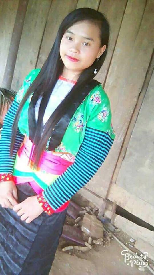 Em Thào Thị Mạnh gọi điện về cho gia đình thông báo mình bị bán sang Trung Quốc vào ngày 9/12 (ảnh gia đình cung cấp)