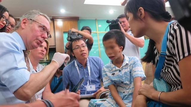 Facing The World đã góp phần rất lớn thay đổi cuộc sống của hàng nghìn em nhỏ ở Việt Nam bị dị tật