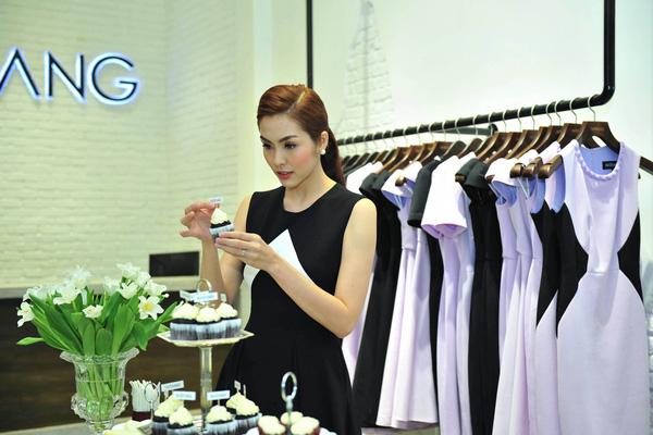 Hà Tăng đã có thương hiệu thời trang mang tên cô
