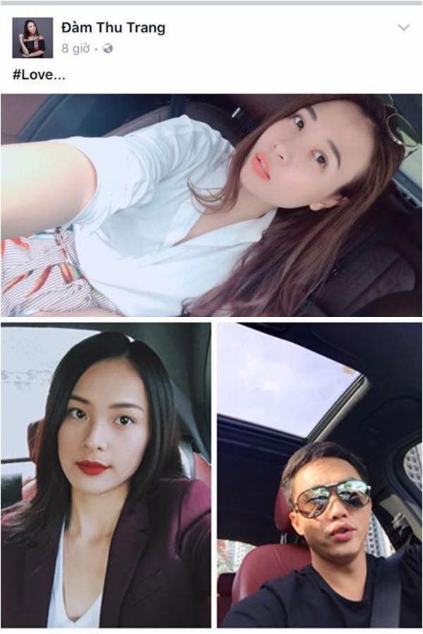 Sở dĩ, dân mạng đồn thổi Đàm Thu Trang là mỹ nhân mới của Cường Đô la chính là việc cô khoe khéo hình ảnh chiếc xe người đẹp đang ngồi. Theo những người tinh mắt, nội thất trong xe Thu Trang ngồi hao hao xe của Cường Đô la.
