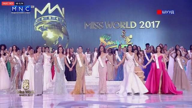 5 người đẹp nhận giải Hoa hậu Nhân ái của Hoa hậu Thế giới 2017.