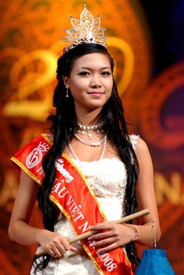 Thùy Dung đăng quang năm 2008.