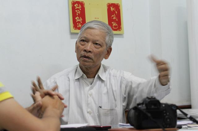Ông Trần Dân, Phó Chủ tịch Hội Khoa học kỹ thuật Cầu đường Đà Nẵng: Mấy nghìn tỷ chỉ để phục vụ đi lại cho hai, ba phường là điều chưa xảy ra trên thế giới. Ảnh: Đức Hoàng