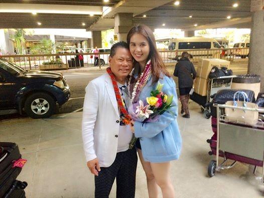 Trước chia tay 1 hôm tỷ phú Hoàng Kiều còn ra tận sân bay đón Ngọc Trinh.