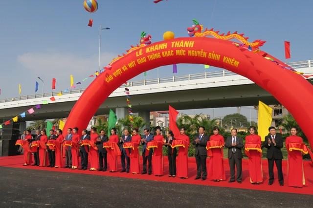 Khánh thành 2 dự án quan trọng tại TP. Hải Phòng
