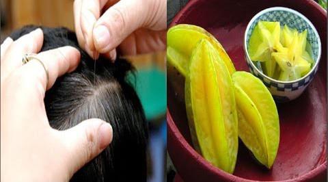 Cách trị tóc bạc sớm bằng khế chua cực đơn giản mà hiệu quả