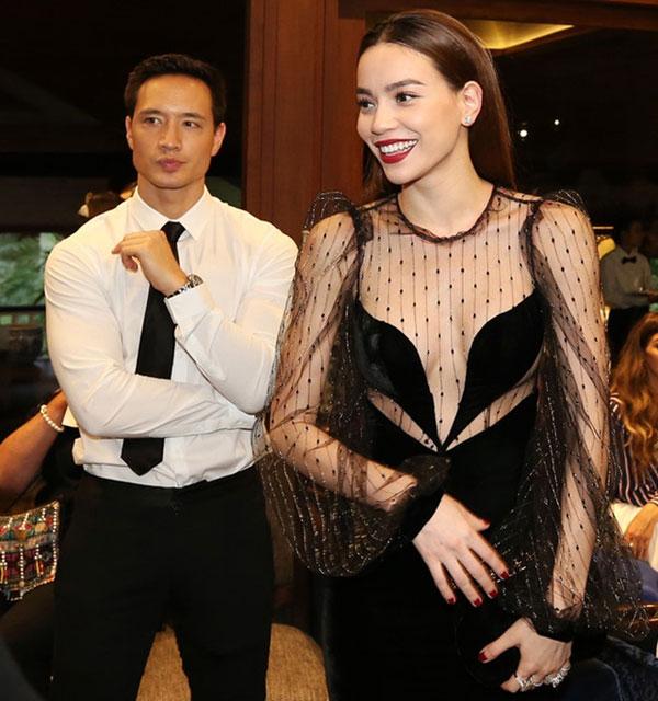 Kim Lý bỏ kỳ nghỉ ở Thụy Điển để sang thăm Hà Hồ.