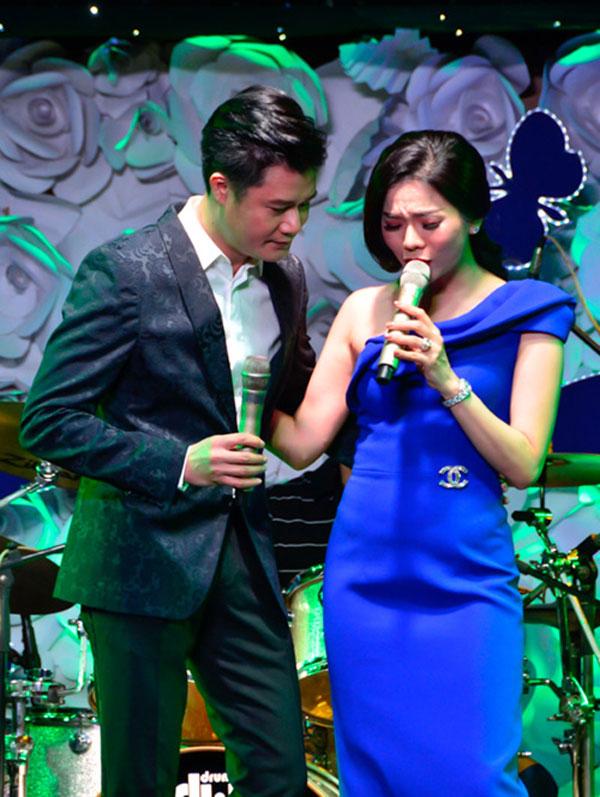 Quang Dũng là người bạn thân thiết của ca sĩ Lệ Quyên.