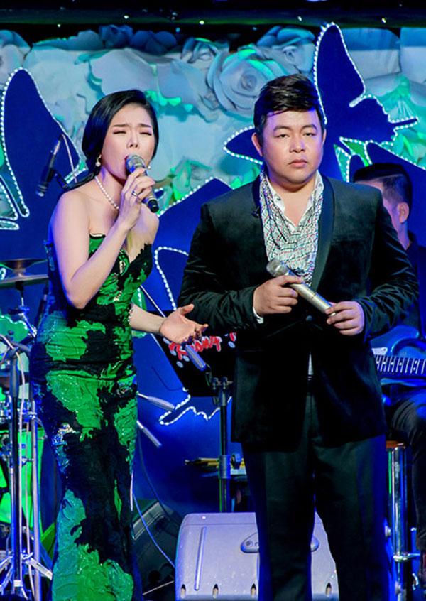 Quang Lê là tri kỉ trong âm nhạc của Lệ Quyên.