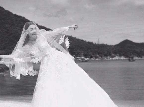 Trà Ngọc Hằng đã chụp ảnh cưới với đại gia