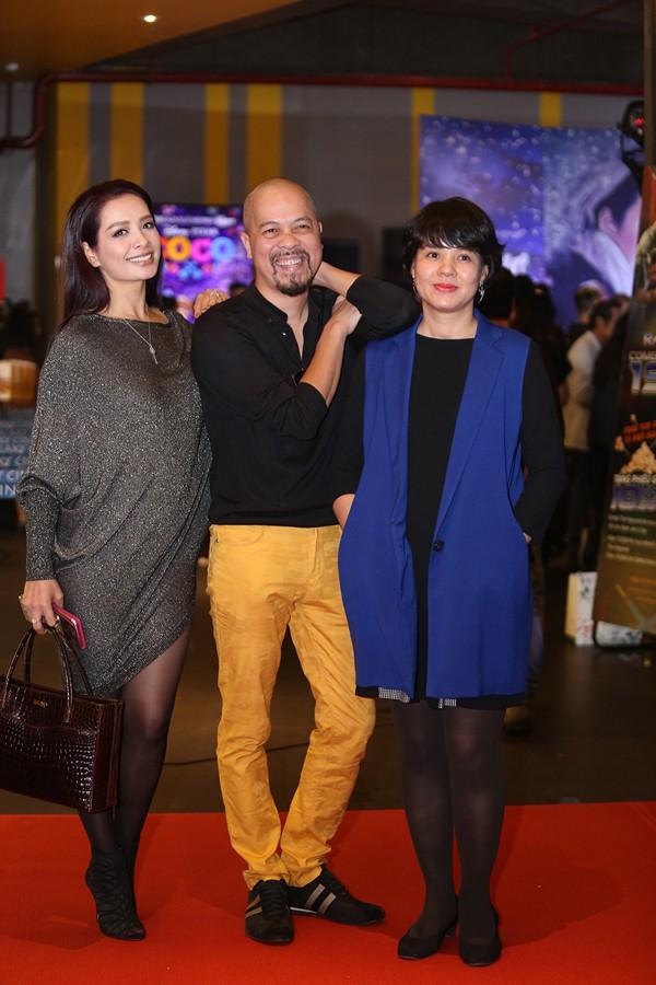Cựu mẫu Thúy Hạnh, NTK Đức Hùng và MC Diễm Quỳnh.