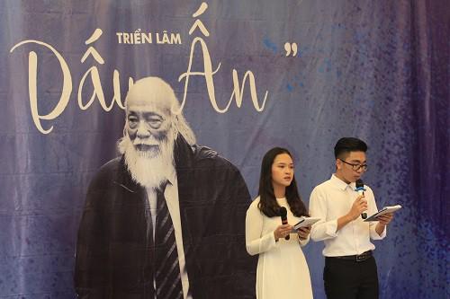Triển lãm Dấu ấn tri ân PGS Văn Như Cương nhân dịp 20/11.