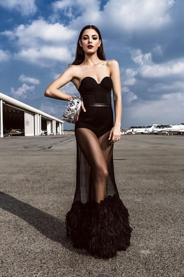Không có vóc dáng hoàn hảo nhưng bằng trí tuệ và sự tự tin, Hoa hậu Nam Phi đã giành chiến thắng.
