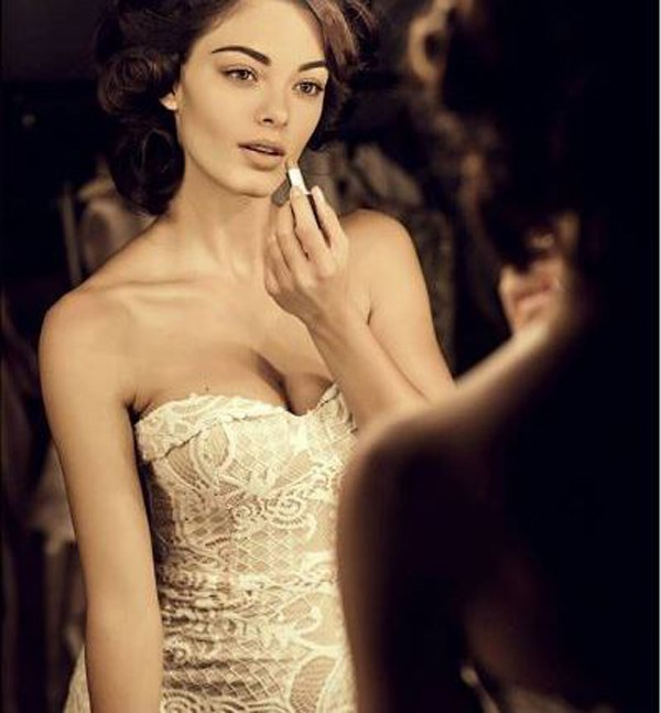 Người đẹp luôn tự tin trong mọi tình huống của cuộc thi.