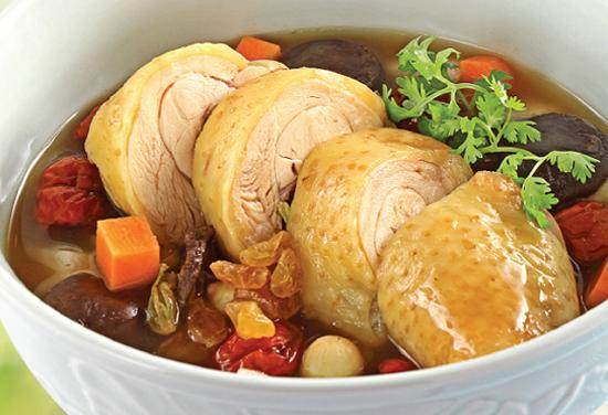 Thịt gà có công dụng như viagra thực phẩm.