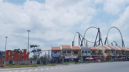 Một góc công viên Đại Dương (phường Bãi Cháy, Hạ Long Quảng Ninh)