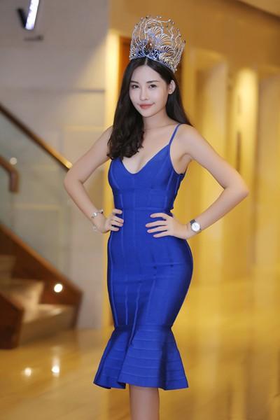 Hoa hậu Lê Âu Ngân Anh