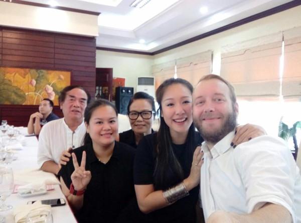 Gia đình hạnh phúc của Hoa hậu Ngô Phương Lan.